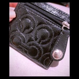 Coach Small black wallet